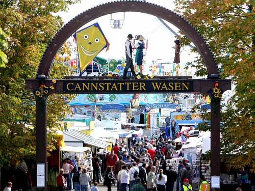 Фестиваль Cannstatter Volksfest в Германии