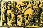 Вот так вавилоняне пили пиво