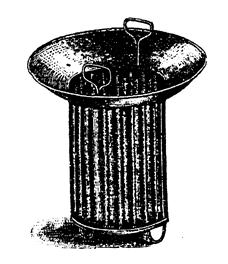 Поплавок для охлаждения льдом сусла в бродильном чане