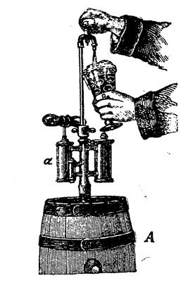 Упрощенный изобарометрический аппарат, годный для домашнего употребления
