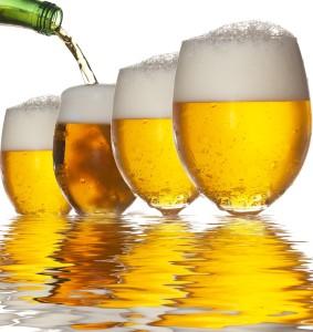 как наливать пиво